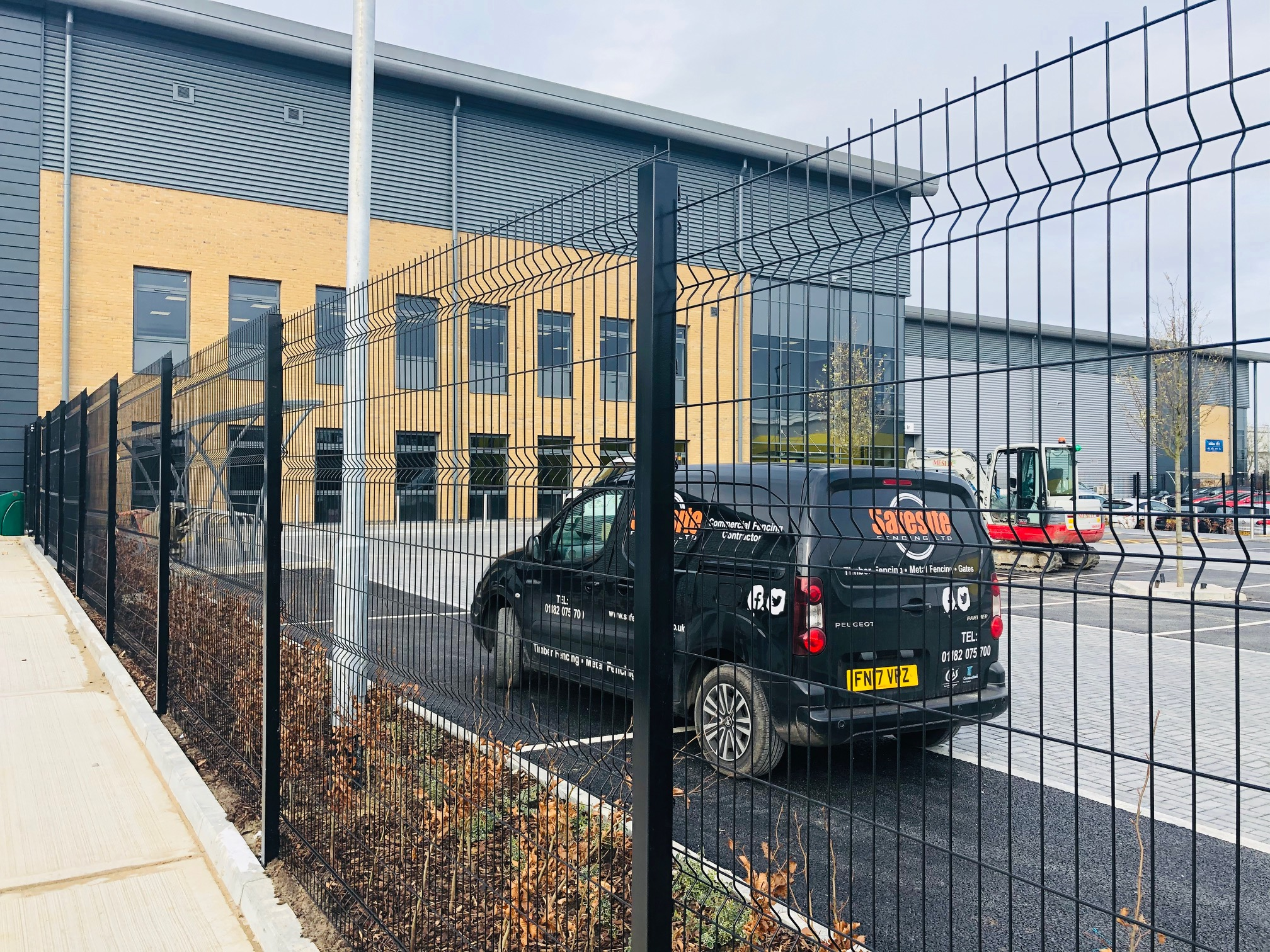 V Mesh & Armco – Bracknell – August 19 to March 20